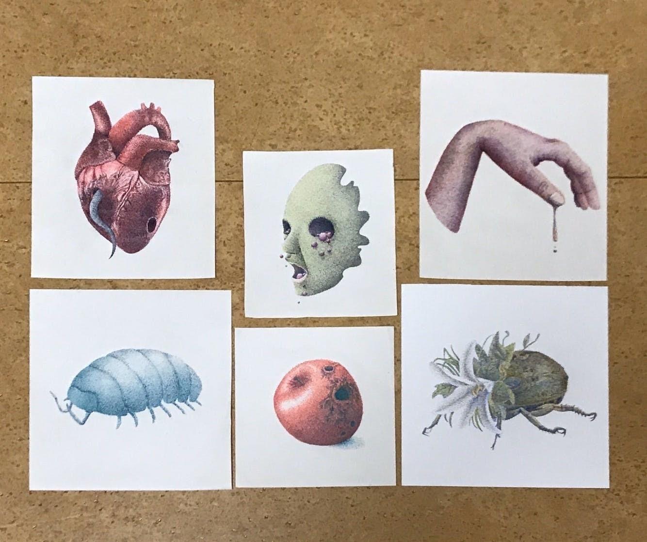 点だけで描く『点描画』で、展示会への出展を目指す17才の挑戦!