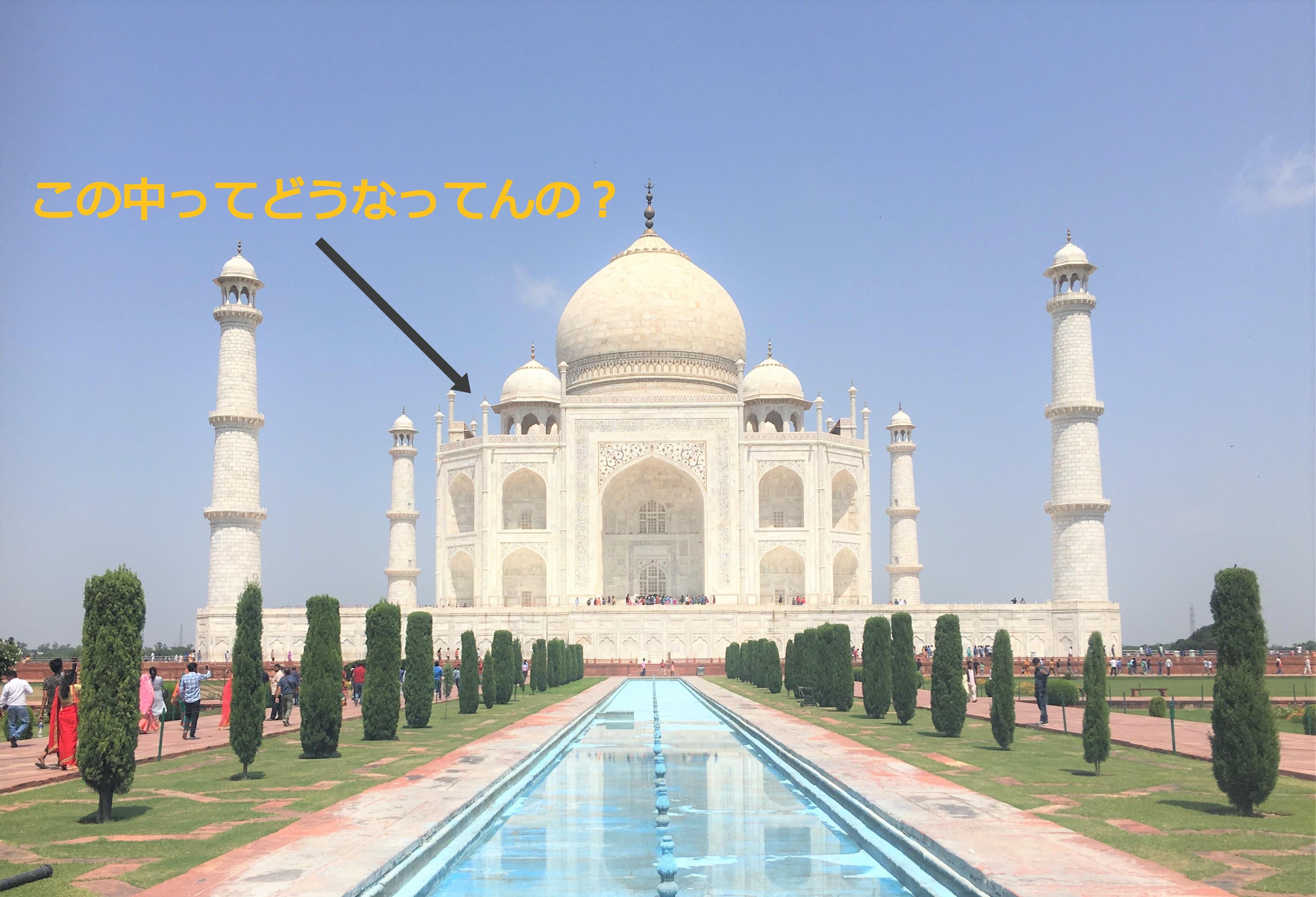 インドの名所『タージマハル』は世界一壮大で美しい○○だった!?