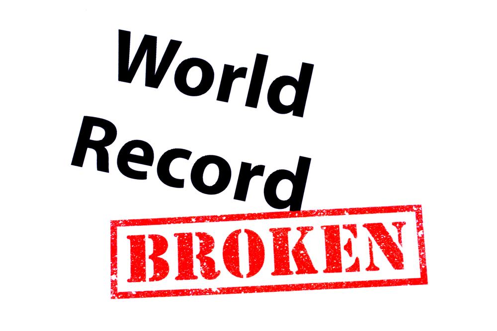 あなたも「世界記録保持者」になれる!?頑張ったらやぶれそうな世界記録🌏