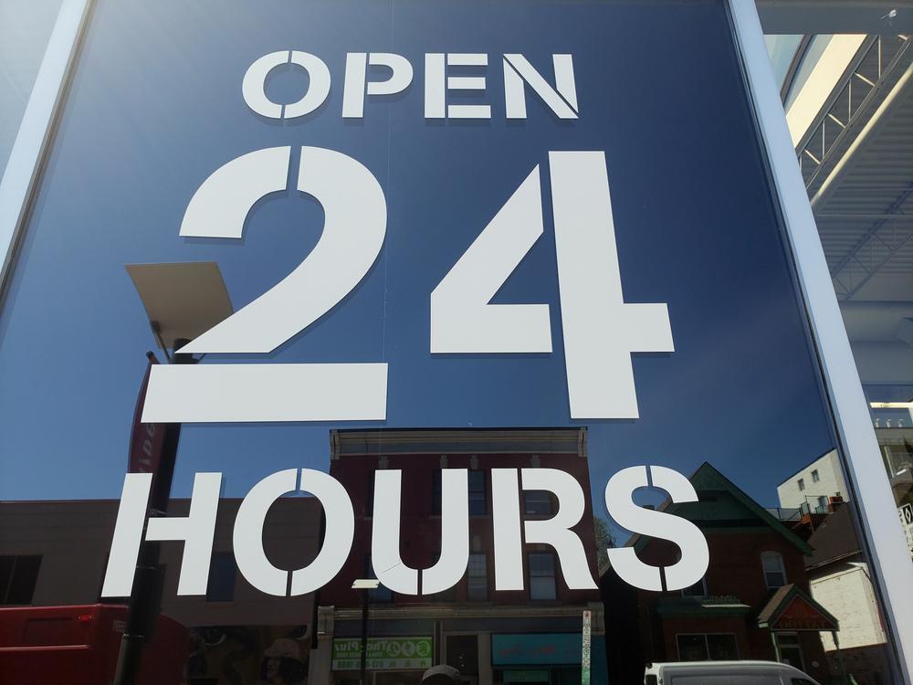 「24時間営業」のユニークなサービス3選