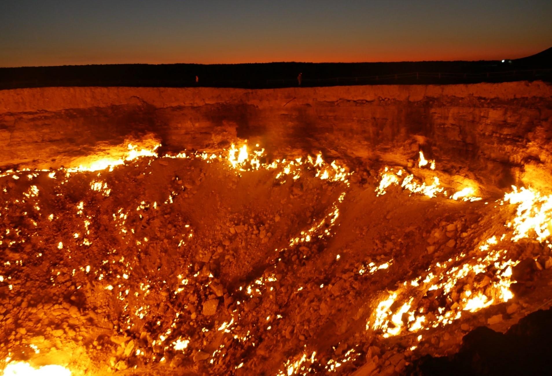 ダルヴァザの地獄の門