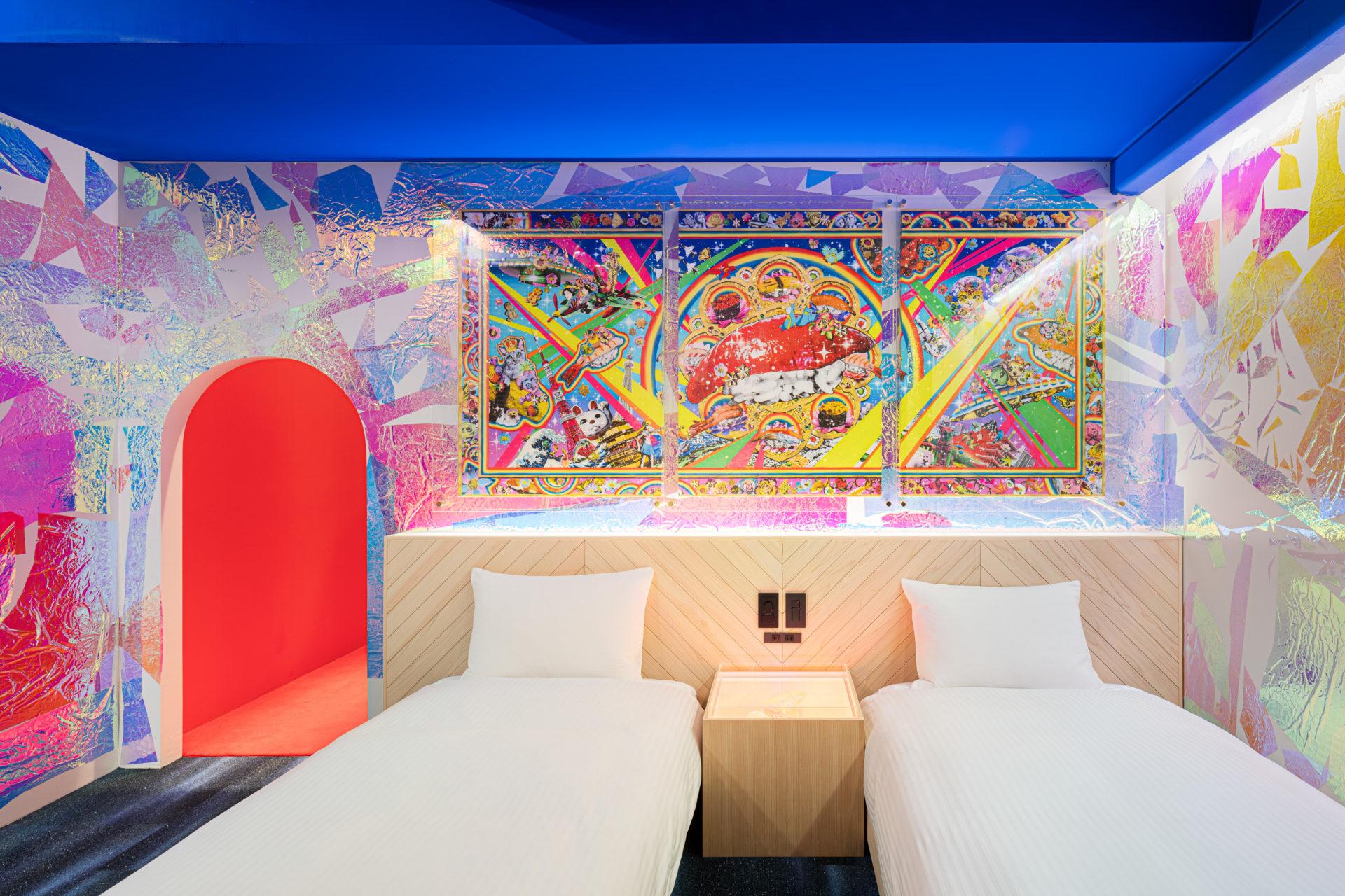 泊まれるアートホテル『BnA_WALL日本橋』で感性を磨く