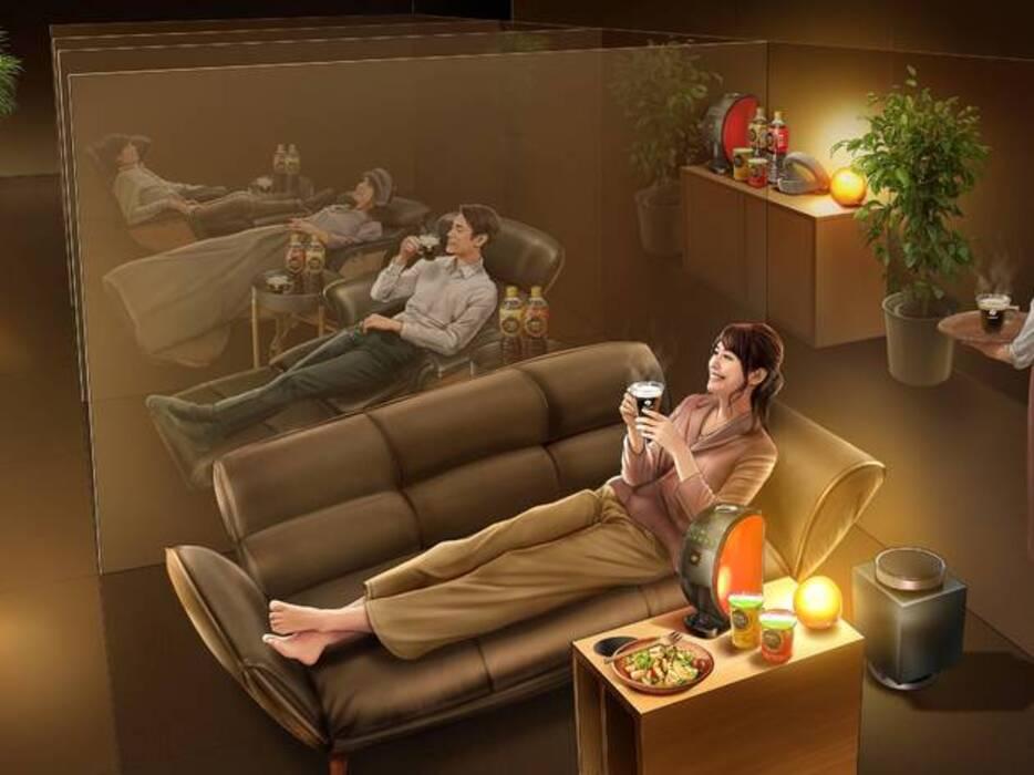睡眠を学べる新しいスタイルのカフェ『ネスカフェ 睡眠カフェ in 原宿』で良質な睡眠体験を。😪☕